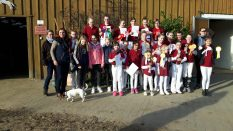 Gruppenbild: Vereinsmeisterschaft Jungzüchter Havelland und Ruppiner Schweiz am 24.3.2017